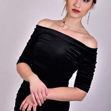 Con Vestito Nero