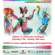 Caampionato Italiano Body Painting Garda 2017