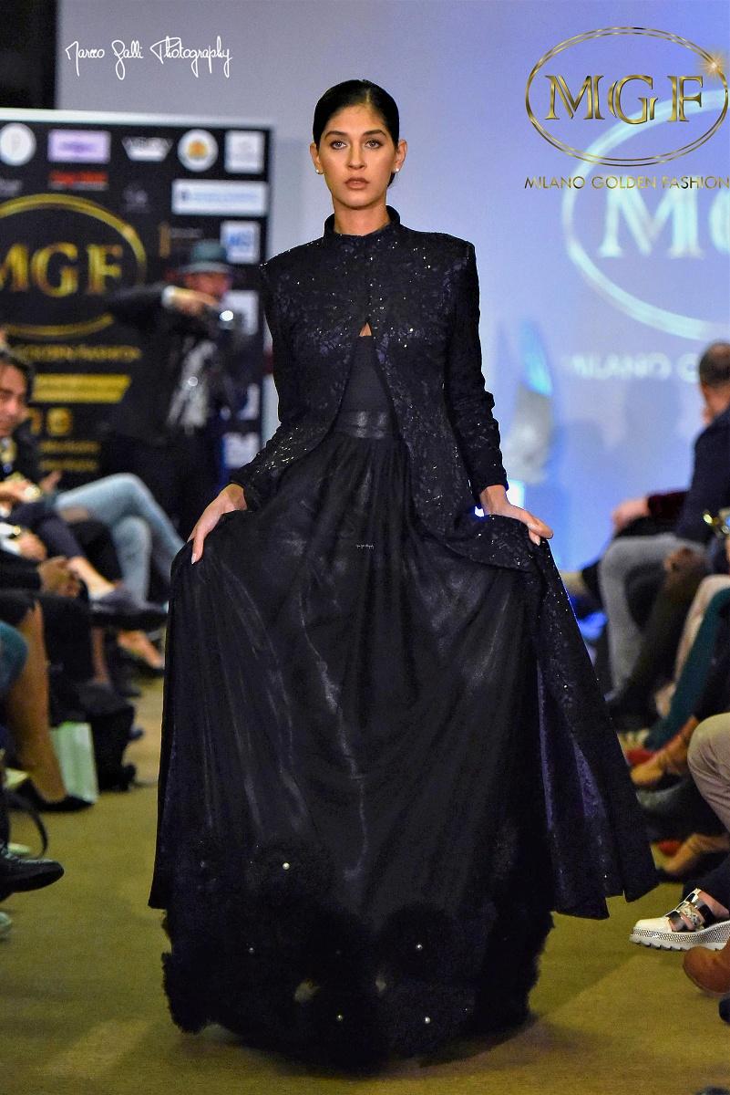 NINA TSIKLAURI stilista emer.. della scuola moda TEATRO della MODA 2019