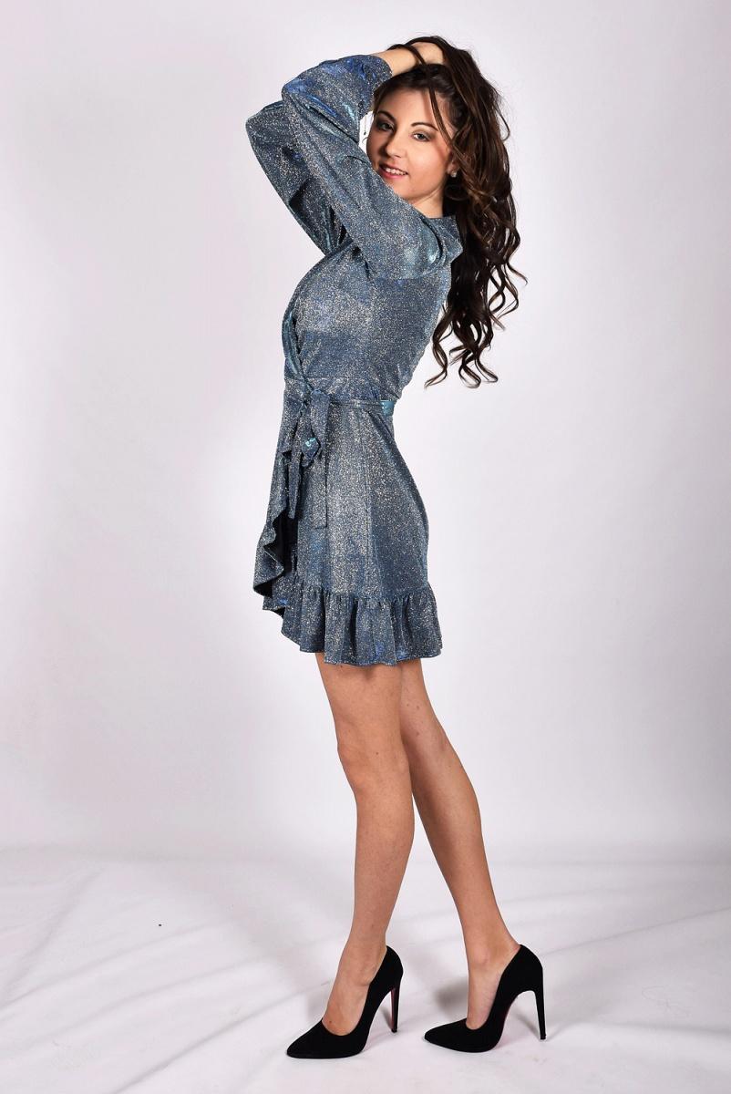 Con Vestito Blu