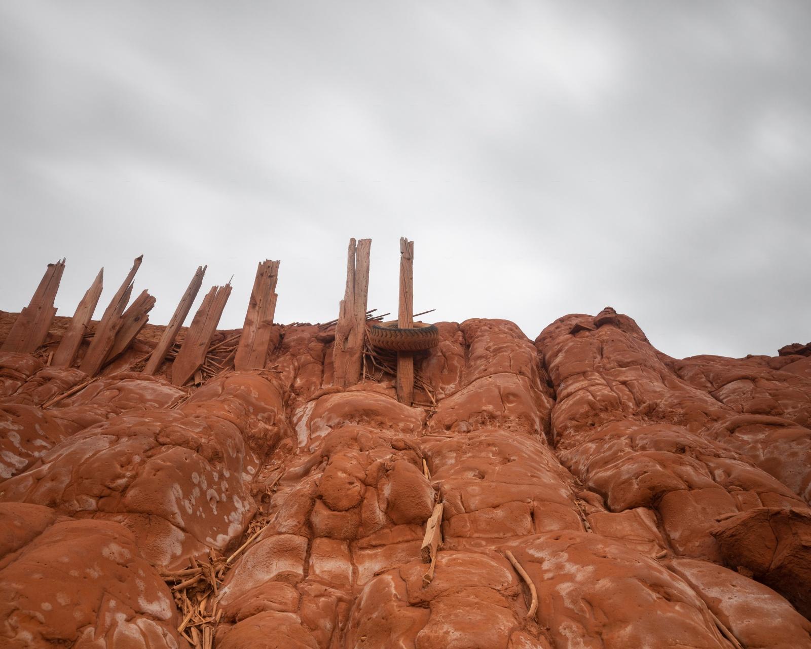 Miniera di piombo e zinco, residui delle lavorazioni del processo elettrolitico dello zinco, Iglesias.